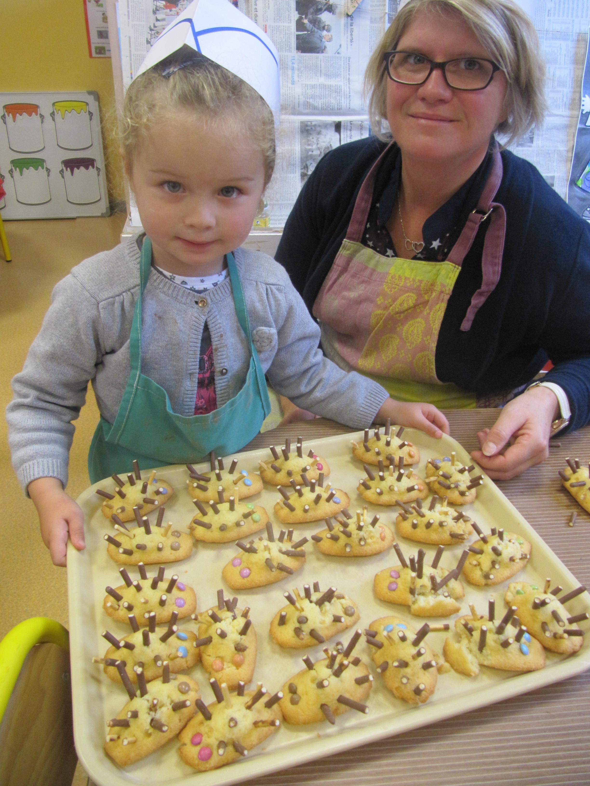 C est la semaine du go t en maternelle cole saint joseph - Atelier cuisine maternelle ...